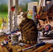 60 best charles wysocki images on cat cat
