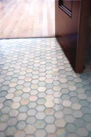 bathroom white hexagon bathroom alternatives tile floor design