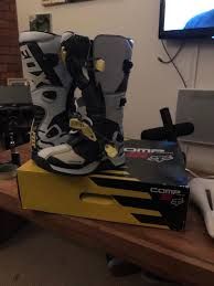fox youth motocross boots fox comp 5 youth motocross boots size 7 uk in wigan manchester