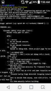 android apktool use a java rt on your android device kilo s