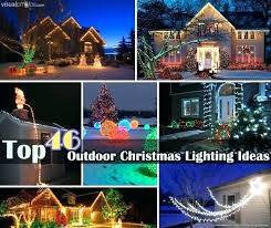 christmas outside lights decorating ideas christmas light ideas for outside lights wrapped around tree