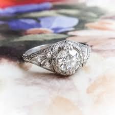 antique u0026 estate diamond engagement rings wedding bands