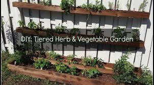 diy tiered planter vegetable u0026 herb garden sunshine dad