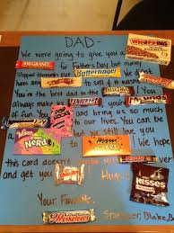 candy bar birthday card for dad candy bars to use for birthday