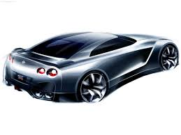 nissan gtr skyline drawing nissan gt r proto concept 2005 picture 31 of 35