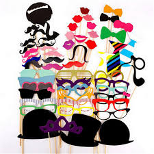photo booth props for sale hot sale 58pcs set photo booth props hat mustache on a stick
