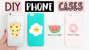 Cute Ways To Decorate Your Phone Case Diy Phone Cases Four Easy U0026 Cute Ideas Youtube