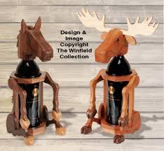pattern for wine bottle holder all decorative indoor moose and horse wine bottle holder pattern set