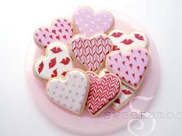 valentines day cookies simple s day cookiessweetambs