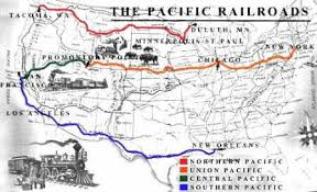 map us railroads 1860 the transcontinental railroad map facts and history for