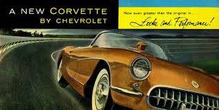 corvette dealers corvette articles 1956 corvette dealers sales brochure