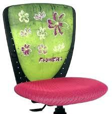 chaise pour bureau enfant chaise bureau enfant fauteuil pour ado fauteuil bureau fille flower