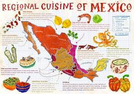 regions of mexico map seven regions of mexican cuisine jardox