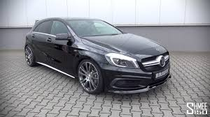 mercedes introduction brabus mercedes a45 amg introduction and revs