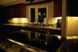 dekor led under cabinet lights at night kitchen cabinet downlight