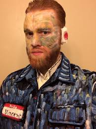 beard halloween costumes went as van gogh for a halloween party pics