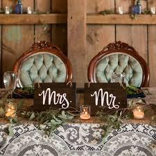mr and mrs wedding signs mr mrs sign set aimee weaver designs llc