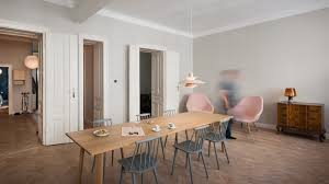 kombinat designs kitchen style workplace for vienna apartment