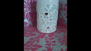 Mosiac Vase How To Make A Decorative Mosaic Vase Youtube