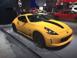 nissan yellow nissan 370z facelift previewed in special heritage edition autocar