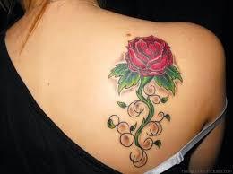 21 tattoos on back