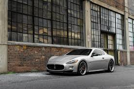 maserati quattroporte black rims maserati granturismo by adv 1 wheels everything sports cars