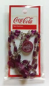 new coca cola collectors cherry coke charm necklace x mas stocking