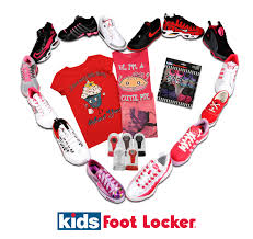 and pink products at foot locker this s day