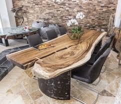 Esszimmertisch Massiv Esstisch Massiv Aus Einer Baumscheibe Der Tischonkel