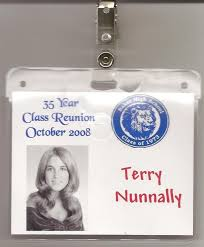 name tags for class reunions 19 best images about high school reunion ideas on