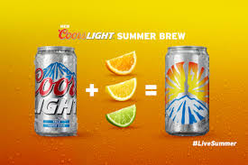 coors light on sale near me cheap beer time for coors light summer brew