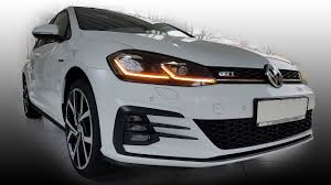 gti volkswagen 2018 vw golf rabbit 7 mk vii gti facelift gp 2017 2018 led lights