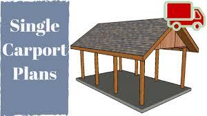 single car carport plans amazing house plans