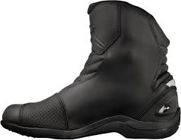 street riding boots alpinestars mens leather black new land motorcycle riding street