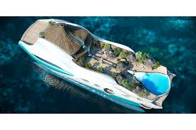 tropical island paradise concept tropical island paradise superyacht has a volcano on it