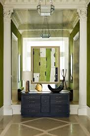Floor To Ceiling Mirror by Mirror Wall U0026 Green Velvet Hallway Ideas U0026 Decorating Ideas