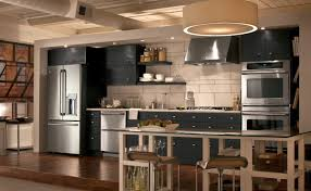 Industrial Kitchen Ideas Kitchen Style Kitchen With Painted Cabinets Imodern Industrial
