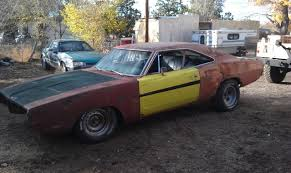 sold 1969 dodge charger project or parts car for b bodies only