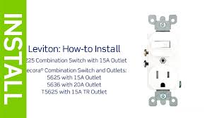 wall outlet switch wiring ats diagram arresting combo floralfrocks