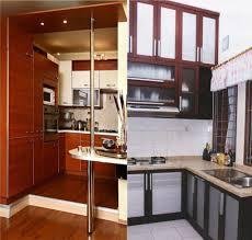 kitchen laminate vs wood cabinets granite countertop edge