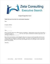 39 resignation letter templates free word pdf format download