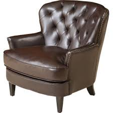 Tan Leather Accent Chair Faux Leather Accent Chairs Joss U0026 Main