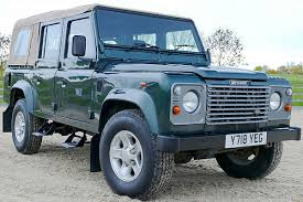 land rover defender convertible land rover defender 110 td5 falcon soft top station wagon
