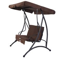 Swing Chair Patio 2 Person Patio Canopy Swing Chair Porch Swings Outdoor Living