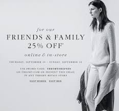 theory clothing theory clothing accessories new york friends family sale
