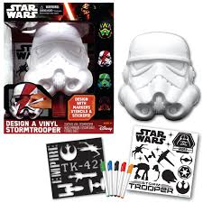 Design A Kit Home Disney Deluxe Star Wars Design A Vinyl Stormtrooper