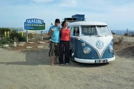 volkswagen van front view around the world in a volkswagen microbus travel rv magazine