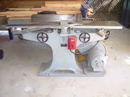 crescent jointer restore old woodworking machinery the patriot