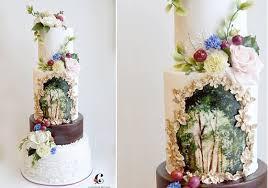 bohemian wedding cakes in rich tones cake geek magazine