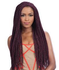different images of freetress hair crochet braid long medium box braid